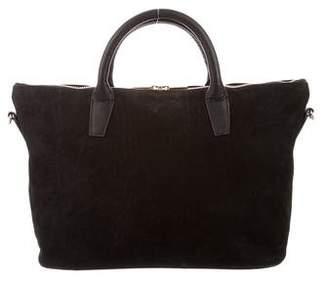 Barneys New York Barney's New York Leather Top Handle Satchel