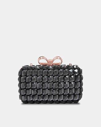 Ted Baker CRYSTEY Embellished frame evening bag