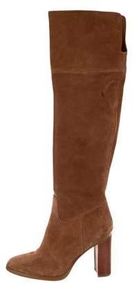 Michael Kors Michael Suede Over-The-Knee Boots