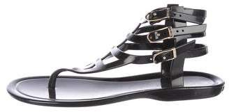 Jimmy Choo Cage Thong Sandals