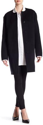 BOSS HUGO BOSS Camora Wool Blend Coat $1,495 thestylecure.com