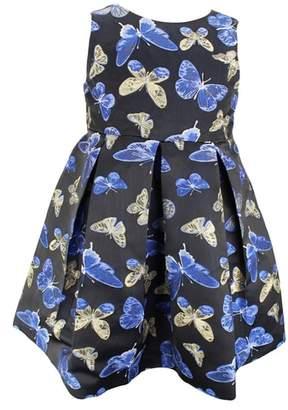 Popatu Butterfly Pleated Sleeveless Dress