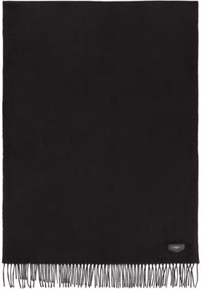 Givenchy Black Antigona Logo Scarf