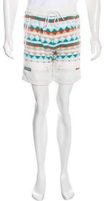 Columbia Kith x Powder Keg Fleece Shorts w/ Tags