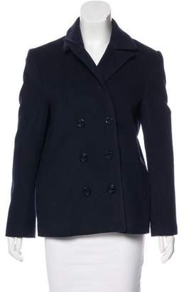 Jenni Kayne Wool Peak-Lapel Coat