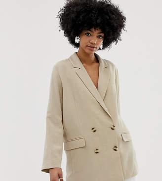 Weekday oversized blazer in beige