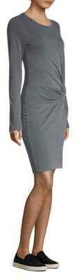 Stateside Twist Jersey Sheath Dress