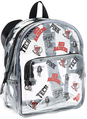 Victoria's Secret Victorias Secret Texas Tech University Clear Micro Backpack