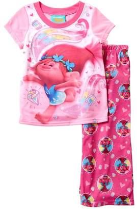 AME Trolls Poppy Pajama Set (Little Girls & Big Girls)