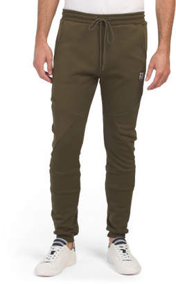 Cut And Sew Seamed Joggers