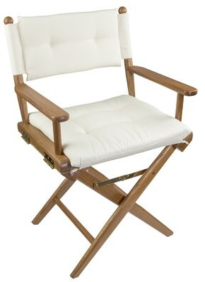 Longshore Tides Erika Folding Director Chair with Cushion Longshore Tides