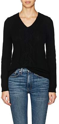 Barneys New York WOMEN'S CABLE-KNIT WOOL-CASHMERE SWEATER