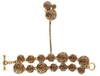 Oscar de la Renta Swirl Hand Chain