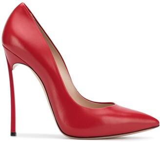 Casadei pointed toe stiletto pumps