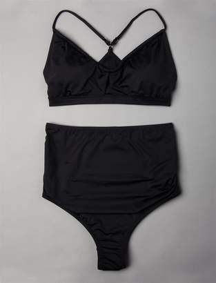 A Pea in the Pod High Waisted Maternity Bikini Swimsuit Set
