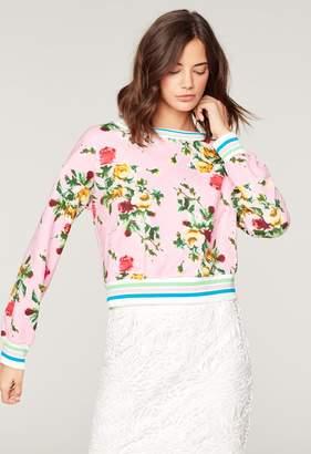 MillyMilly Rose Print Tyler Sweatshirt