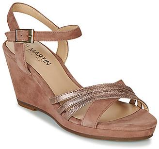 JB Martin QUOLIDAYS women's Sandals in Brown