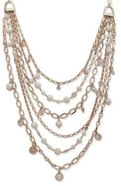 Ralph Lauren Faux Pearl Multi-Strand Necklace