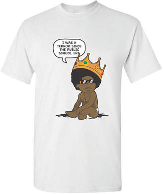 Baby Biggie Smalls Cartoon Men's Graphic T-Shirt