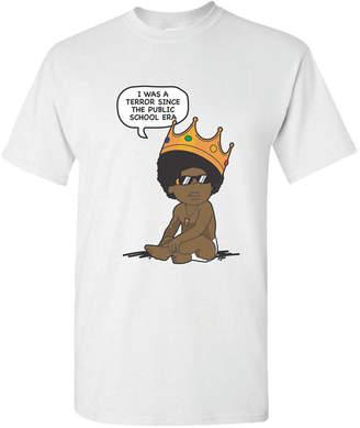 Baby Biggie Smalls Cartoon Men Graphic T-Shirt