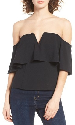 Women's Leith Off The Shoulder Top $55 thestylecure.com