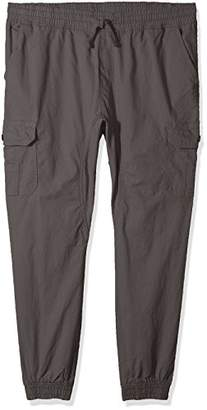 Southpole Men's Jogger Pants Washed Ripstop Fabric Cargo Pockets