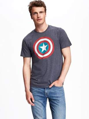Old Navy Marvel Captain America Graphic Tee for Men