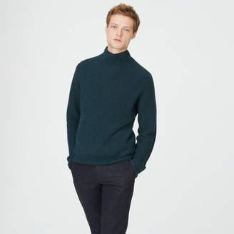 Club Monaco Cashmere Rib Mockneck Sweater