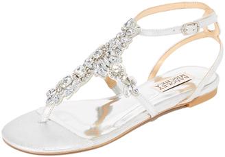 Badgley Mischka Cara II Sandals $195 thestylecure.com