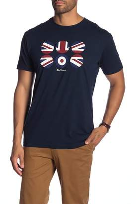 Ben Sherman Flag Circus Graphic Print Tee