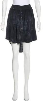 Raquel Allegra Tie-Dye High-Low Skirt w/ Tags
