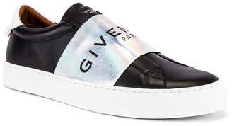 Givenchy Urban Street Elastic Sneakers in Black & White | FWRD