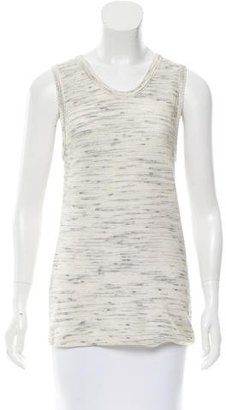 Inhabit Patterned Sleeveless Top w/ Tags $75 thestylecure.com