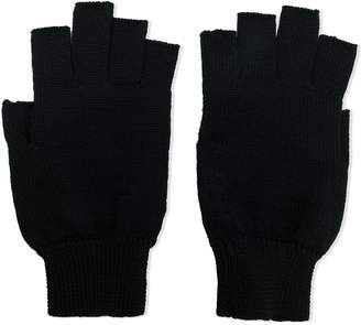 Rick Owens fingerless gloves
