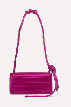 Dries Van Noten Quilted Satin Shoulder Bag - Pink