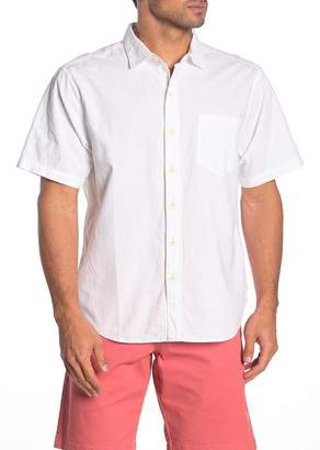 Tommy Bahama Skysail Short Sleeve Button Front Regular Fit Shirt