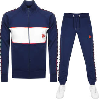 c2baa34fe25 Money Clothing Money Sig Ape Full Zip Tracksuit Navy