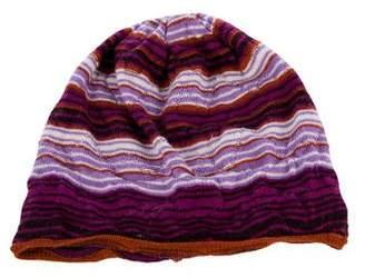 Missoni Wool Striped Beanie