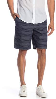 Original Penguin Striped Straight Fit Shorts