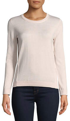 Max Mara Silk-Blend Pagode Round Neck Sweater