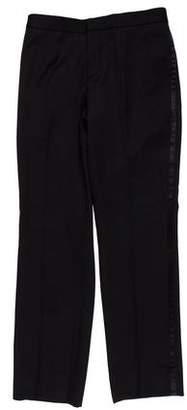 Burberry Virgin Wool Tuxedo Pants