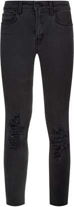L'Agence Margot Destruct Ankle Length Jeans