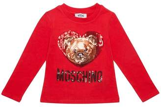 Moschino Sequin Teddy Top