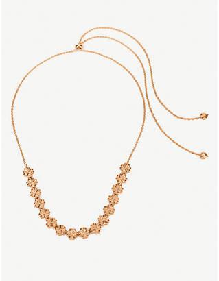 Folli Follie Heart4Heart Blossom rose gold-plated necklace