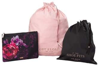 Ted Baker Splendour Laundry And Shoe Bags - Black