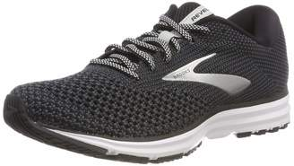 Brooks Women's Revel 2 Running Shoe (BRK-120281 1B 40826A0 9.5 BLK/Gry/Gry)