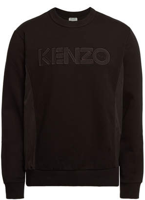Kenzo Embroidered Sweatshirt with Cotton