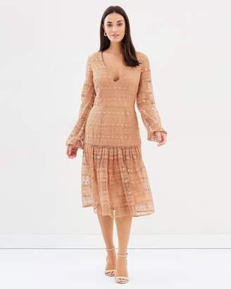Cooper St Elizabeth Long Sleeve Lace Dress