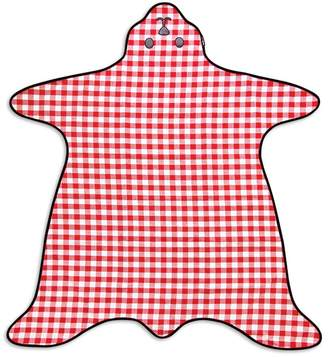 Suck UK Packable bear skin picnic throw