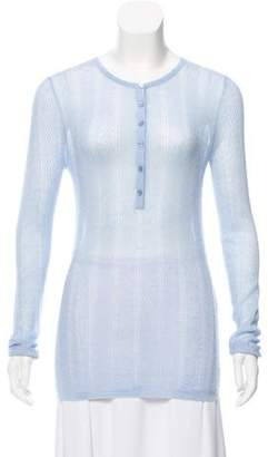 Gabriela Hearst Cashmere Knit Top